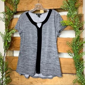 ❗️[SALE 3 for $20] Susan Lawrence | Gray Blouse